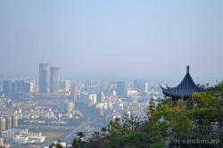 Вид на город Худчжоу