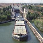 Волго-Донской судоходный канал, шлюз № 9