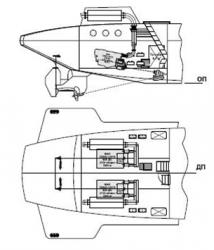 Двигатели судов на подводных крыльях для Сибири