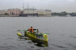 Презентация регаты в Санкт-Петербурге