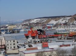 Морской порт Корсаков