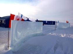 Работы на Северном полюсе