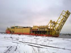 Стоянка в Архангельске