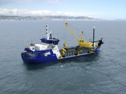 Проект дноуглубительного судна с объемом трюма 100