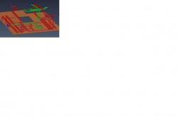 Узловая сеть отображает возможные маршруты проклад