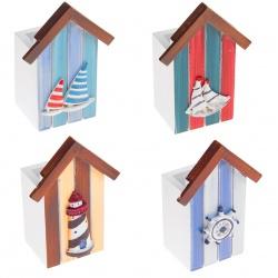 «Подставка для ручек Дом: Морской микс»