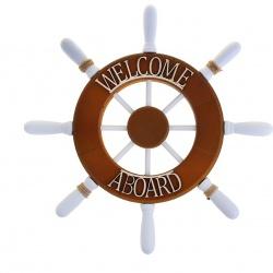 "«Штурвал интерьерный ""Welcome aboard""»"