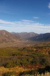 Вид на знаменитую Паратунскую долину