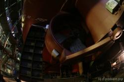 Спуск на воду дноуглубительного судна проекта TSHD