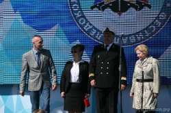 III Фестиваль ледоколов в Санкт-Петербурге. Церемо