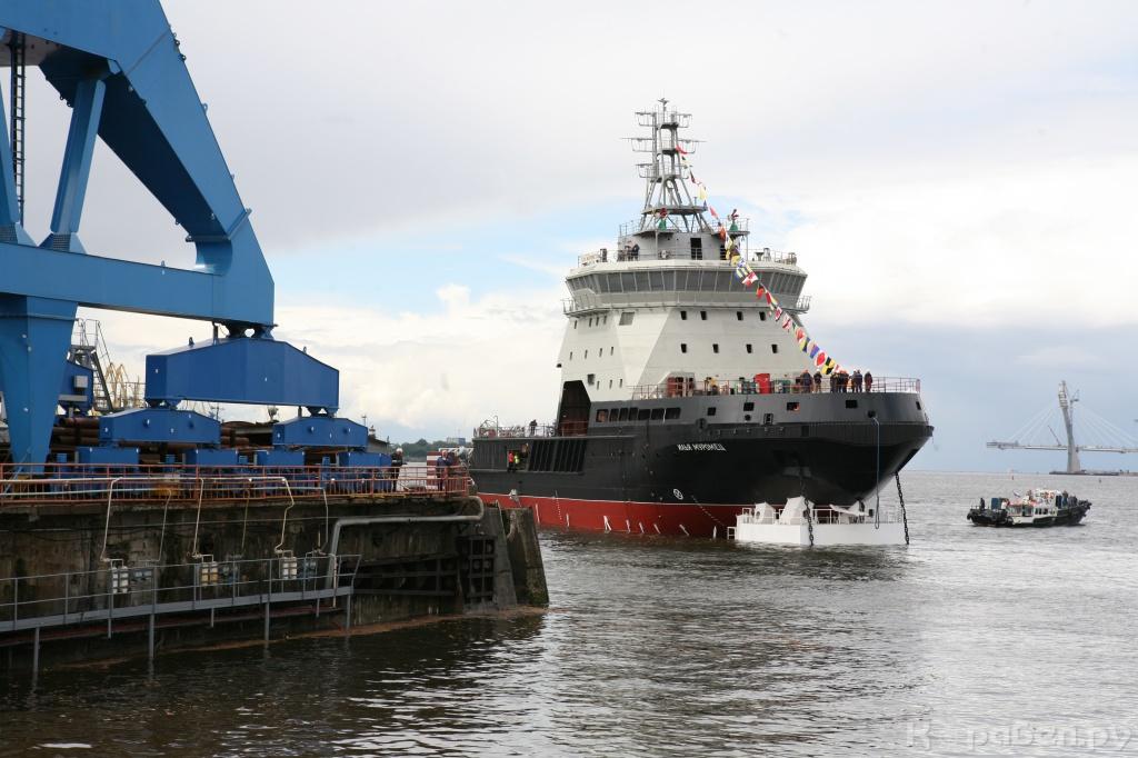 Ледокол «Илья Муромец» войдет в состав Арктической группировки ВМФ до конца года