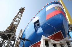 Россия спустила на воду Арктику — самый большой атомный ледокол в мире (фоторепортаж)