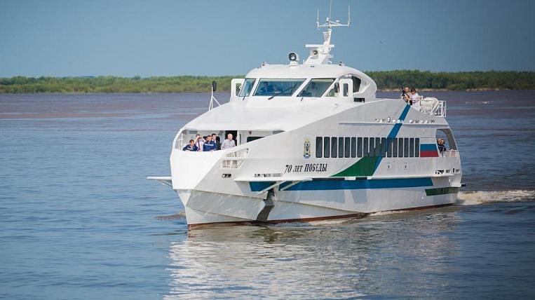 Новое быстроходное судно представит наВЭФ-2016 Хабаровский край
