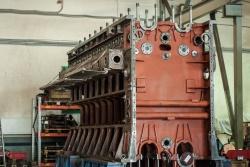 Остов дизельного двигателя размерности 23/2x30