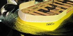 Испытания нового корпуса судна от МИБ
