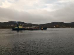 Рыбный порт Мурманск