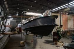 Сборка крупномасштабного катера. Амбициозный экспе