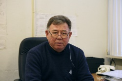 Начальник железндорожного участка Ильдус Ихласович