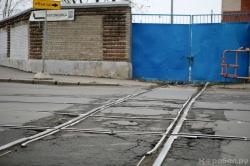 Железнодорожный переезд на Косой линии