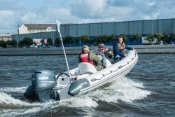 Жестконадувная быстроходная лодка