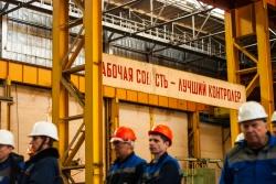 На Балтийском судостроительном заводе состоялась т