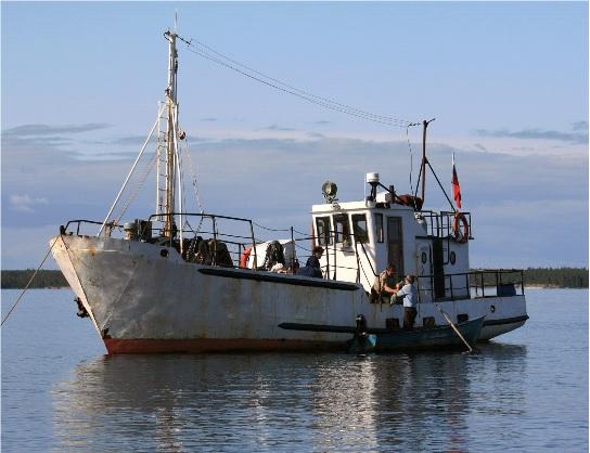 рыболовные суда на авито