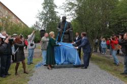 Открытие памятника В.С. Пикулю