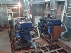 Ввод в эксплуатацию дизель-генераторов на судне