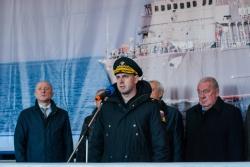 Владимир Тряпичников, контр-адмирал, начальник упр