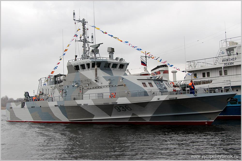 ВМФРФ получит навооружение новый противодиверсионный катер «Грачонок»