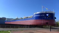 Сормовские судостроители спустили на воду танкер-х