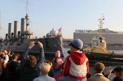 Буксировка крейсера