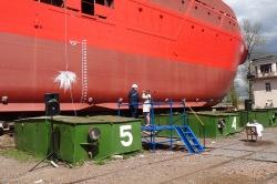 На Невском ССЗ спустили на воду судно проекта MPSV