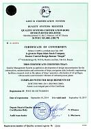 Сертификат соответствия ИСО 9001 - 2011 (en)