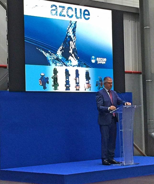 В Испании открылся новый завод партнера Морской Техники – Azcue Pumps