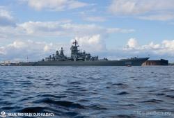 Крейсеры Северного флота встали на рейд Кронштадта