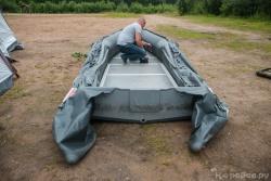 Подготовка лодки к испытаниям
