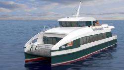 Концептуальный проект пассажирского судна-катамара