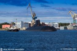 Встреча атомной подводной �