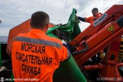 Учения морской спасательной службы