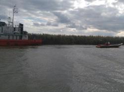Медэвакуация матроса в Каспийском море