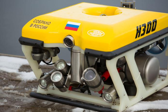 Телеуправляемый подводный аппарат (ТПА H300)