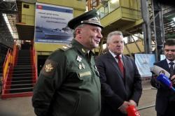 Заместитель Министра обороны Юрий Борисов посетил