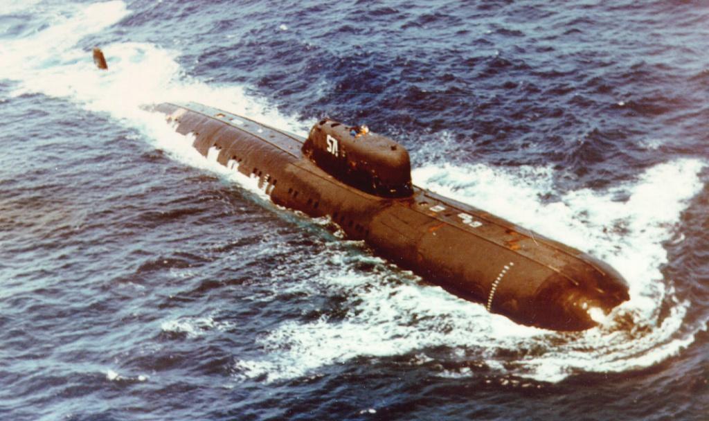Атомная лодка 670 проект