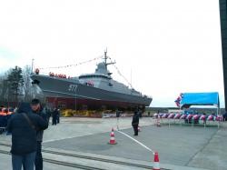 Подготовка к спуску корабл�