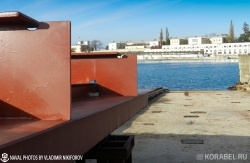 Закладка плавкрана ПК-400