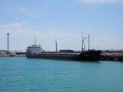 В порту Актау. 06.06.2016