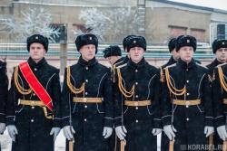Церемония поднятия флага н�