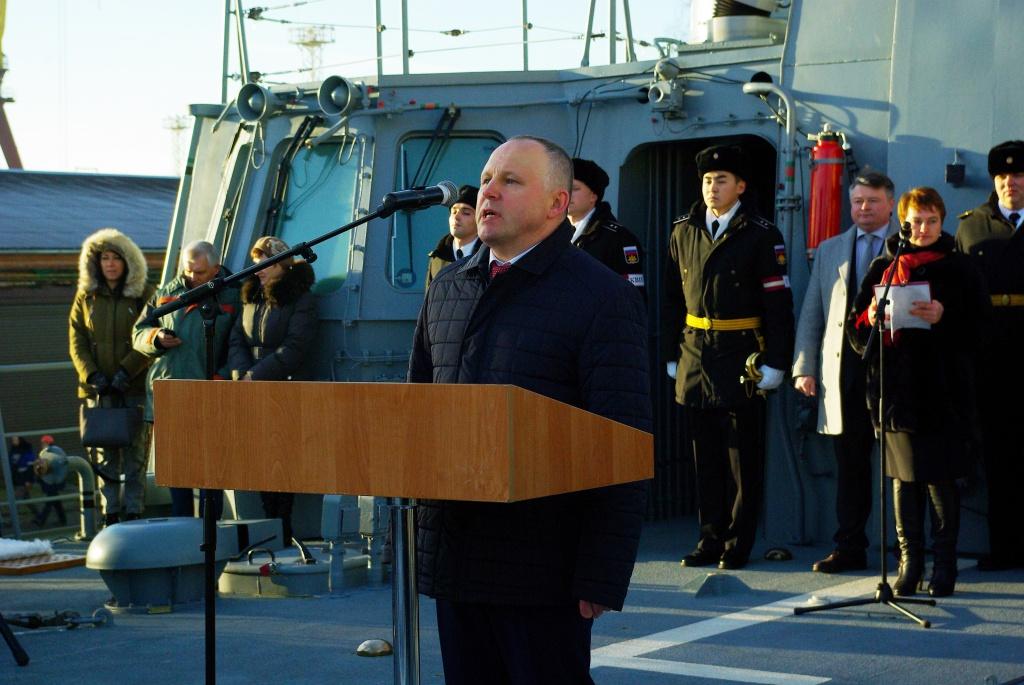 Третий фрегат проекта 11356 «Адмирал Макаров» войдет всостав флота 27декабря
