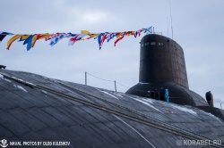 Торжественное построение посвященное 35-летию атом